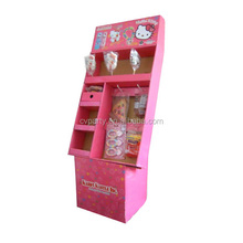 cardboard display shelf standee swing display stand