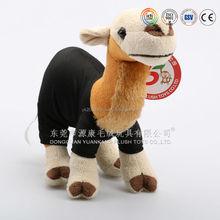 2015 Hot selling!Stuffed Camel toys/Plush Animal Camel/lifelike Camel