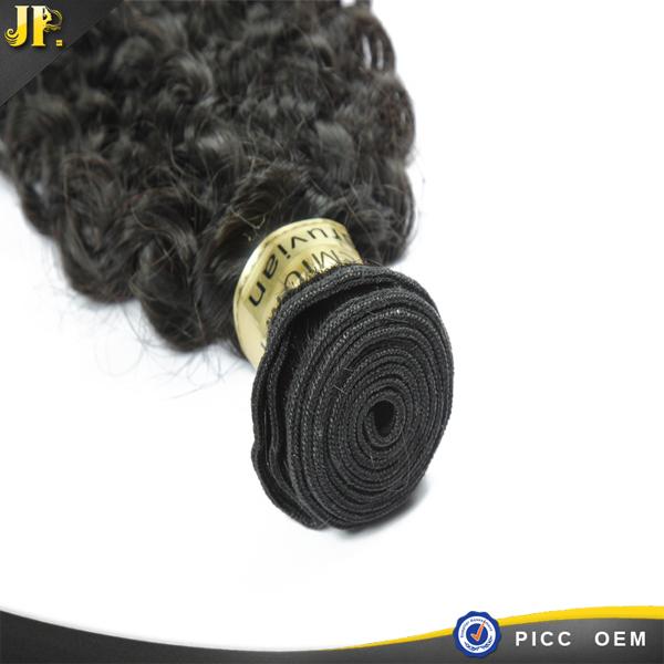 Nouveau venir cheveux produit de péruvienne meilleurs kinky bouclés armure cheveux