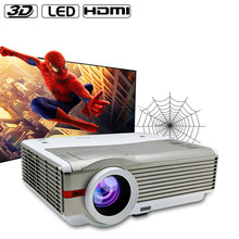 4200 Lumens Full HD 3D led projector support 1920x1080 for home theater