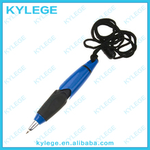 Promotional Plastic Ball Point Pen with Strap
