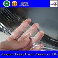 quality transparent super clear pvc film