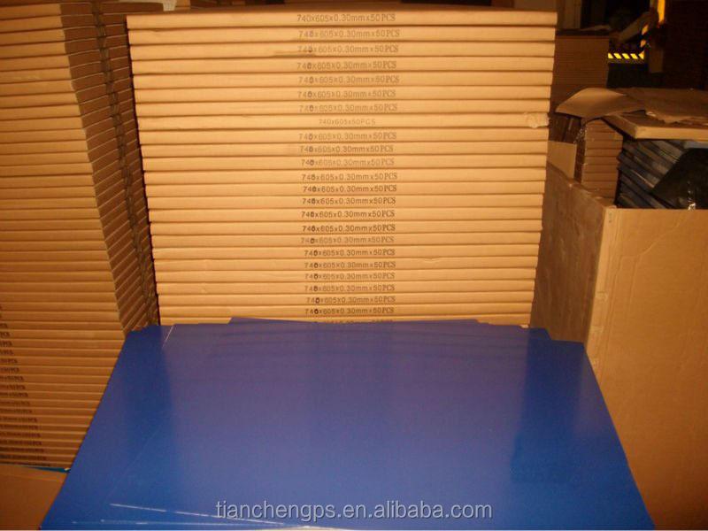 Ctp térmico placa / thermography impresión / impresión de periódicos