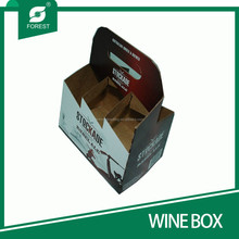 ALIBABA GOLDEN SUPPLIER HOT SALE CORRUGATED SIX PACK BEER CARRIERS WITH CUSTOM PRINT