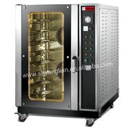 10 trays Mini Gas rotary oven