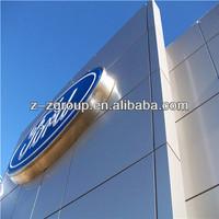 alucobond aluminum plastic composite panel in dubai