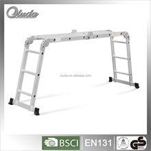aluminum multi-purpose ladder,4x2 for Europe en131