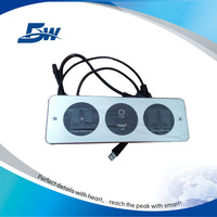 BW-W63 Advanced High Quality Hotel Room Media Hub/Office Desk Aluminum Panel Socket Outlet