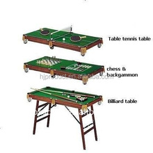 48inch shuffleboard and table tennis table top Pool table