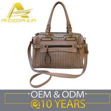 Latest Newest Design Custom Shape Printed 2015 New Model Lady Handbag Shoulder Bag