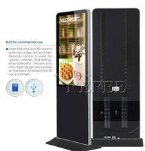 Newest free standing advertising display pocket display