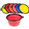 silicone dog water bowl silicone pet bowl pet travel bowl