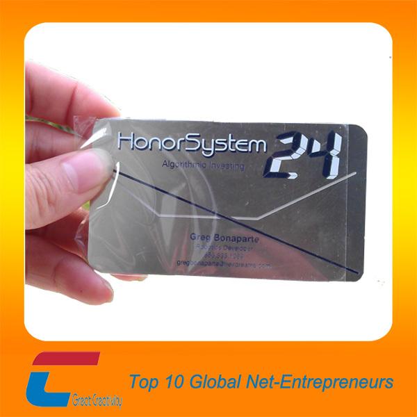 Anodized Aluminum Anodized Aluminum Business Cards