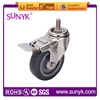 decorative furniture casters with brake