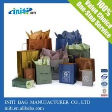 Low price fashion Reusable Custom made Gift Bag for gift