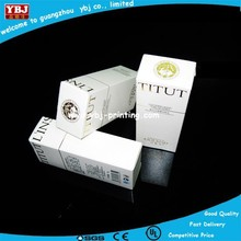 Folding toner cartridge paper boxes