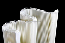 Polyester Flat bonded nonwoven for filtration materials