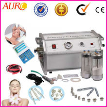 Diamond dermabrasion Crystal remove pigments and freckles machine salon use Au-8304A