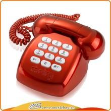 Teléfono de escritorio GSM / GSM inalámbrico fijo teléfono con pantalla / FM / MP3 / agenda / ranura para tarjeta del TF