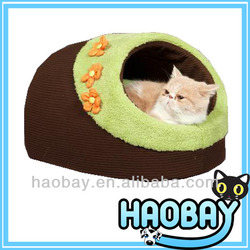 Cozy Pet House Soft Decorative Pet Dog Beds With Flowers