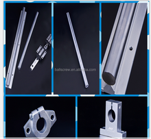 Outside-shafted ball screw special modular type dual rail linear guide