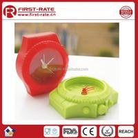 Colorful Alarm Silicone digital table clock