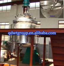 2000L stainless steel jacketed reactor/epoxy resin reactor/pva glue reactor