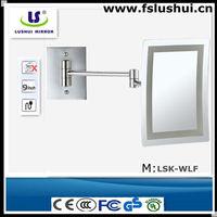 high quality 5star hotel frameless mirror mounting hardware