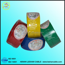 2015 hot selling competitive price PVC Insulated copper wire building wire supplier BV BVVB BVR