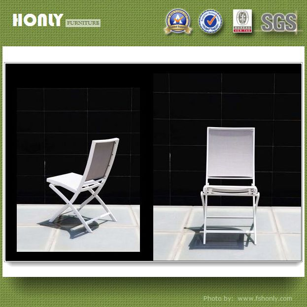 Without armrest folding chair with backrest outdoor canvas folding chair