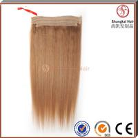100% Human Hair Cheap Flip in halo hair extensions