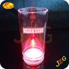 Hot selling led shot glass custom logo printed led flashing cup 2 oz plastic mini beer mug shot glass