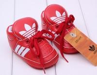Розничная девочек ходунки малыша первый пешеходов обувь скольжения весна осень детей обувь первый