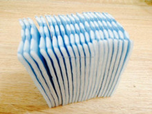 Cotton Pads sealed side with 4 dots
