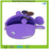 lovely fish shape silicone purse wallet