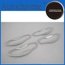 Factory price plastic chrome trim, chrome car door handle bowl insert cover for Hyundai Santa Fe 2013