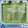 Heavy duty galvanized large dog kennel, galvanized chain link dog kennel panels