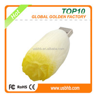 grade A / low price /fash delivery with FCC/CE/ROhs new designs Chinese cabbage shape usb flash disk
