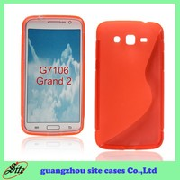 New design tpu cell phone back cover case for samsung galaxy grand 2 g7106