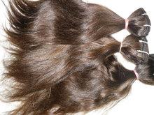 Только лучшее! 100% человеческих волос реми волосы связали уток из перуанский