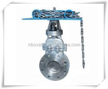 EN STANDARD chain wheel gate valve DN250 10 INCH