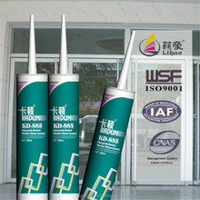 neutral rtv cure, both uv and ozone resistant weather silicone sealant for construction glass window and door