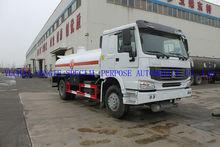 howo fuel tank truck,15cbm fuel tank truck