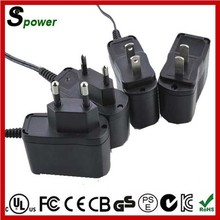 12V 0.1A AC DC Adapter Charger with High Efficiency