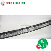 Professional car accessories Osram Curved led driving light bars 300W/400W/480W Osram led curved light bar