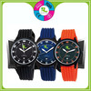 Colorful New Arrival Most Popular Digital Waterproof Black Silicone Watches For Boyes