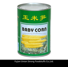 canned white baby corn in brine 425g