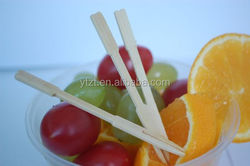 15cm decorative artificial bamboo food picks for food