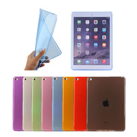 Cheapest Ultra Thin slim 0.3mm soft Case for ipad mini 4, Back clear case for ipad mini 4