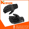 Windproof leather full finger motorcycle glove